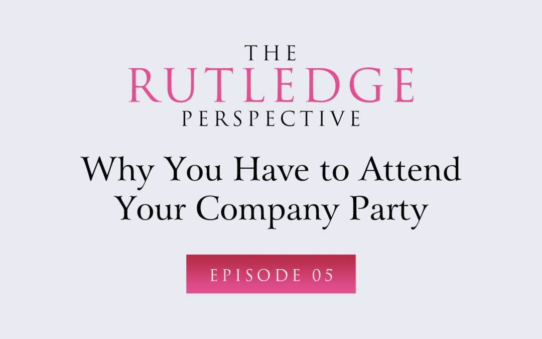 Why You Have to Attend Your Company Party